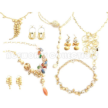 14K Gold Plated Jewelry (14K Gold Plated Schmuck)