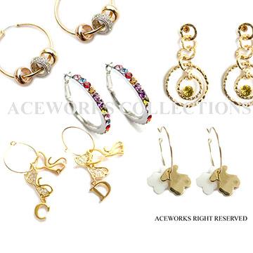 Charm Earrings (Charm Ohrringe)