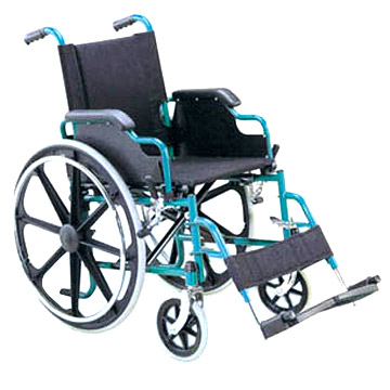 Steel Manual Wheelchair
