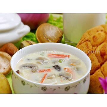 Crab and Mushroom Pottage (Крабы и грибами похлебка)