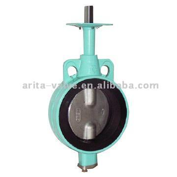 Wafer Butterfly Valve without Pins (Absperrklappe Wafer ohne Pins)