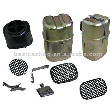 Pressing Parts and Strainers (Нажатие частей и фильтры)