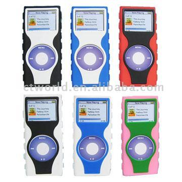 Silicon Cases for iPod Nano 2 (Кремний Шкафы для Ipod Nano 2)