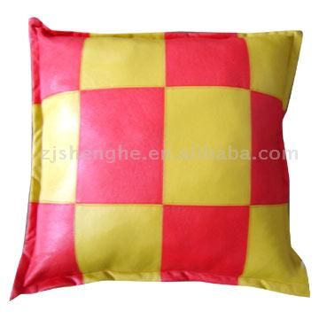 PU Leather Cushion
