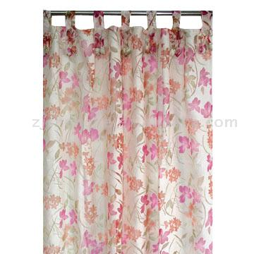 Burnt-Out Curtain