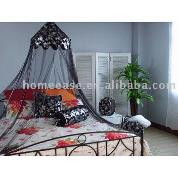 Queen Size Black Metal Canopy Bed - Furniture Store, Shopping for