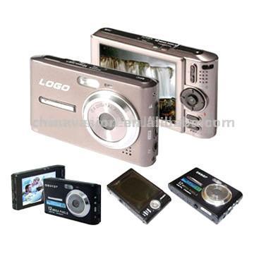Large 3-Inch LCD 3 Megapixel Digital Camera (Большой 3-дюймовый ЖК-3-мегапиксельной цифровой камеры)