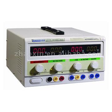DC/AC Voltage Regulated Power Supply (DC / AC Напряжение регулируемый источник питания)