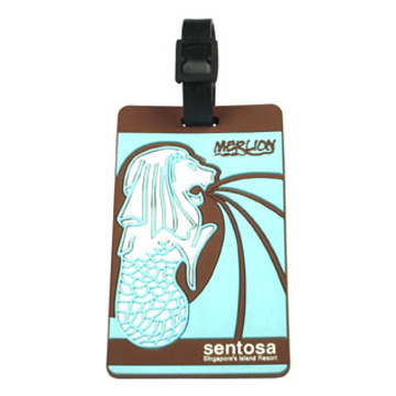 PVC Luggage Tag (ПВХ багажную бирку)