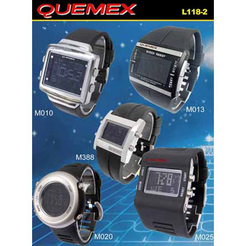 LCD Watches (ЖК-часы)