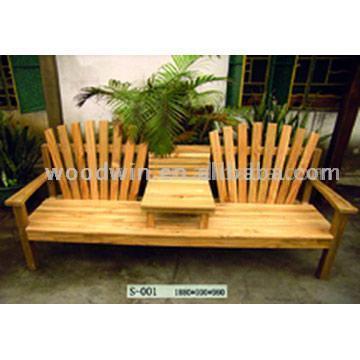2017 Gartenbank Holz Mit Tisch