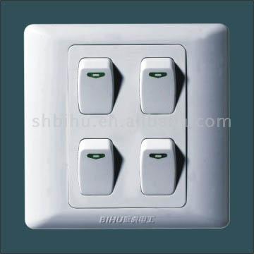 E86A One Gang Switch (Big Button)