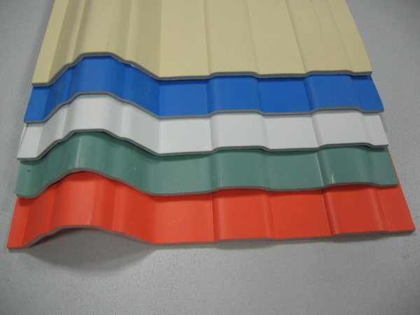 Heating Insulation UPVC Roof Tile