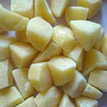 Random Cut Frozen Potato