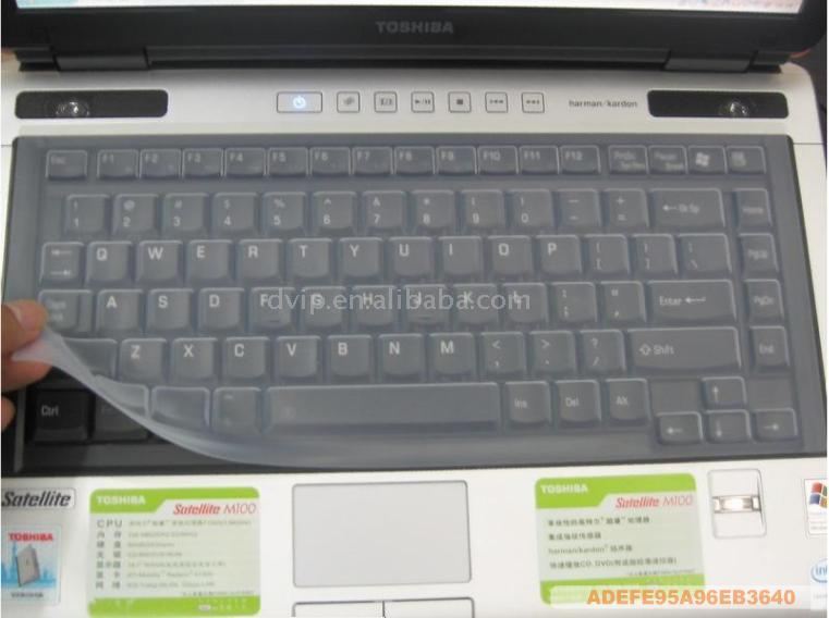 Silicone Keyboard Cover for Notebook-TOSHIBA,APPLE,IBM,DELL (Silikon Keyboard Cover für Notebook-TOSHIBA, Apple, IBM, DELL)