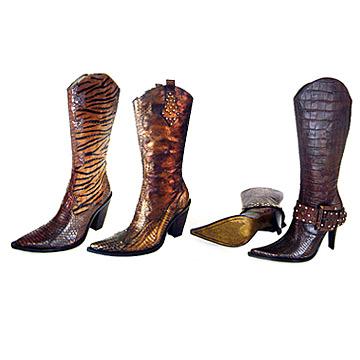 Women`s Genuine Leather Boot (Женские натуральная кожа Boot)