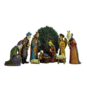 Norse Nativity Set (Задать норвежское Рождество)