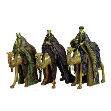 3-King for Nativity Set (3-King для Рождества Установить)