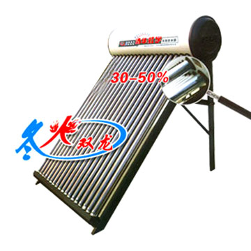 Solar Water Heater (Wintry Fire Double Dragon Series)