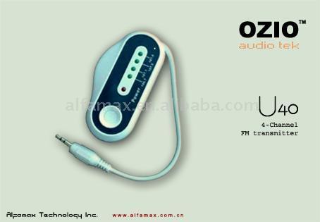 Car Transmitter With Four Frequencies (Автомобиль передатчик с четырех частотах)
