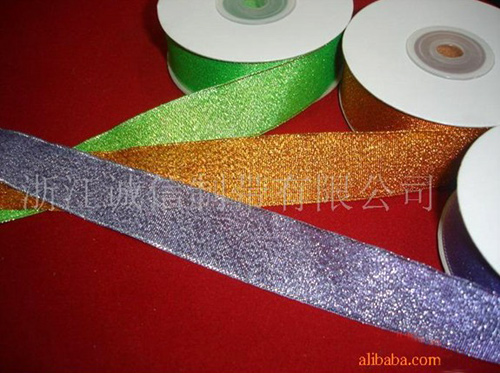 Metallic Yarn Ribbon (Металлическая лента Пряжа)