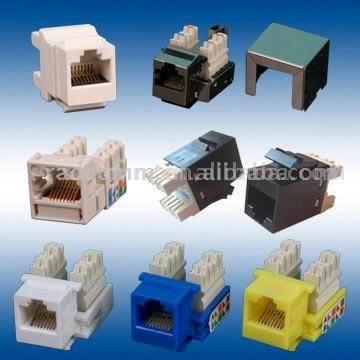 Cat5e Keystone Jack (Cat5e Keystone J k)