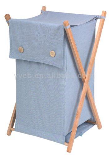 Wooden Laundry Hamper (Деревянный прачечной Хампера)