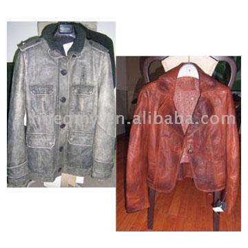 Fashion Damen Leder-Jacken (Fashion Damen Leder-Jacken)