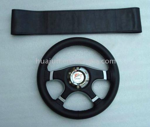 Sewing Steering Wheel Cover (Швейные Руль Обложка)