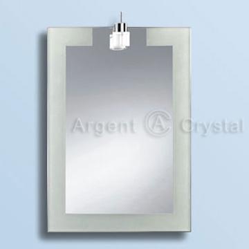Bathroom / Decorative Mirror with Sandblasting Technique