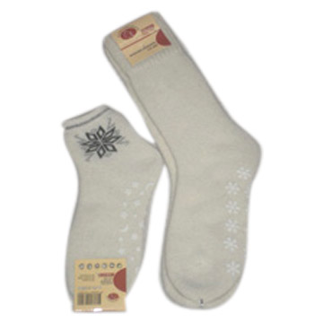 Ladies` Angora Sock