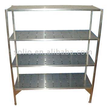 4-Layer Stainless Steel Shelf (4-слойная Нержавеющая сталь шельфа)