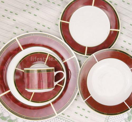 20pc Porcelain Dinner Set