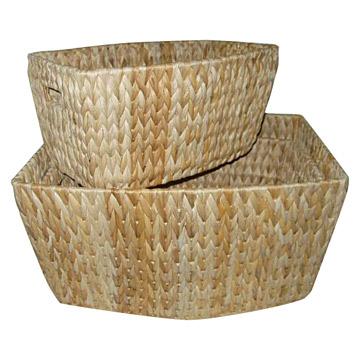 Banana Leaf Basket
