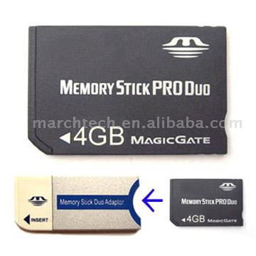 Адаптер для memory stick pro duo