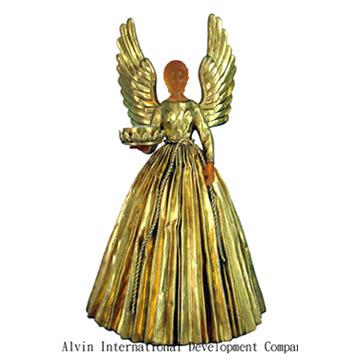 Golden Angel Candle Holder (Золотой ангел свеча Организатор)