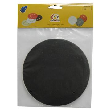 Round Silicon Carbide Abrasive Paper