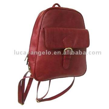 Leather Backpack ()
