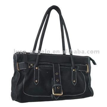 Washed Leather Handbag (Мытая кожа Сумочка)