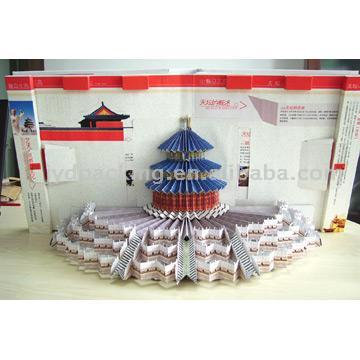 Pop-Up Book (The Temple Of Heaven) (Pop-Up книги (Храм Неба))