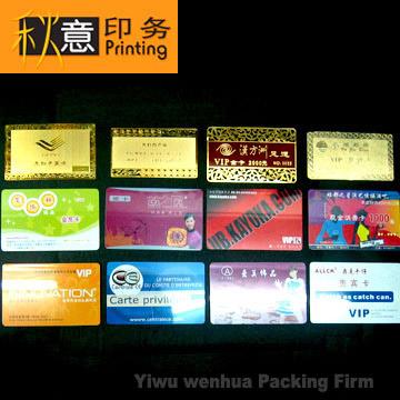 PVC Card, Name Cards