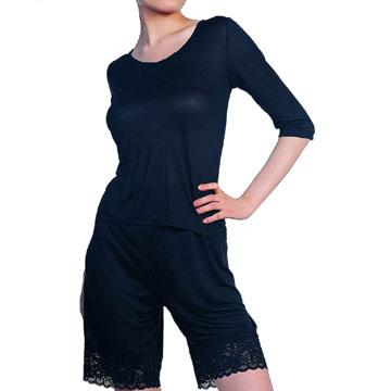 Silk Half-Sleeve T-Shirt (Шелковые полурукав T-Shirt)