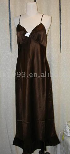 Silk Evening Dress (Шелковые Вечернее платье)
