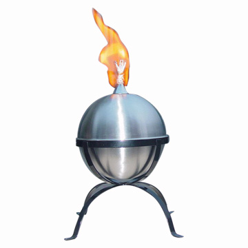 oil lamp. Stainless Steel Oil Lamp