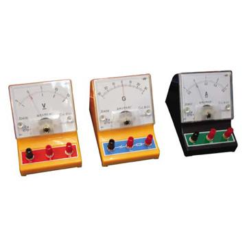 DC Current Meter, DC Voltmeter and Sensitive Galvanometer (Постоянный ток Meter, DC вольтметр и чувствительной гальванометра)
