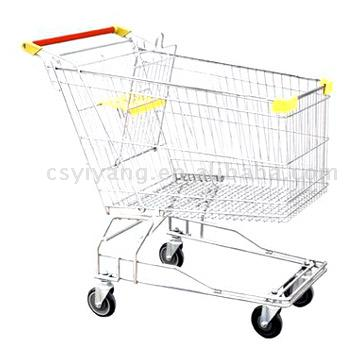Asian Style Shopping Trolley (Asian Style Shopping Trolley)