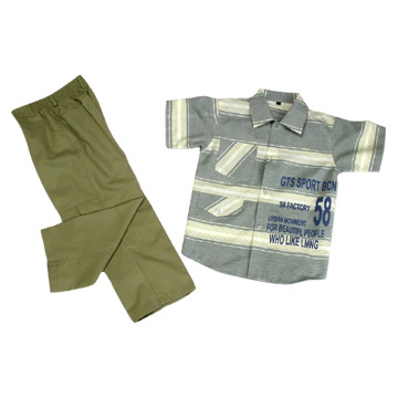 Boys` Two-Piece Suit