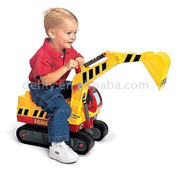 Toy Excavator (Игрушка Экскаватор)
