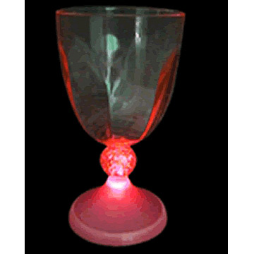 Flashing Wine Glass