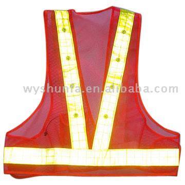 LED Lighting Mesh Vest (Светодиодное освещение Mesh Vest)